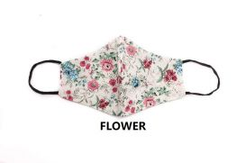 Adult Assorted Print Reusable Face Coverings with disposable filter